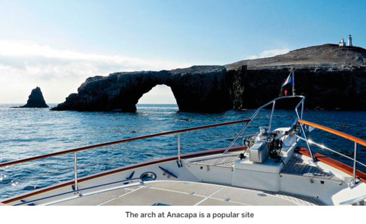 The arch at Anacapa