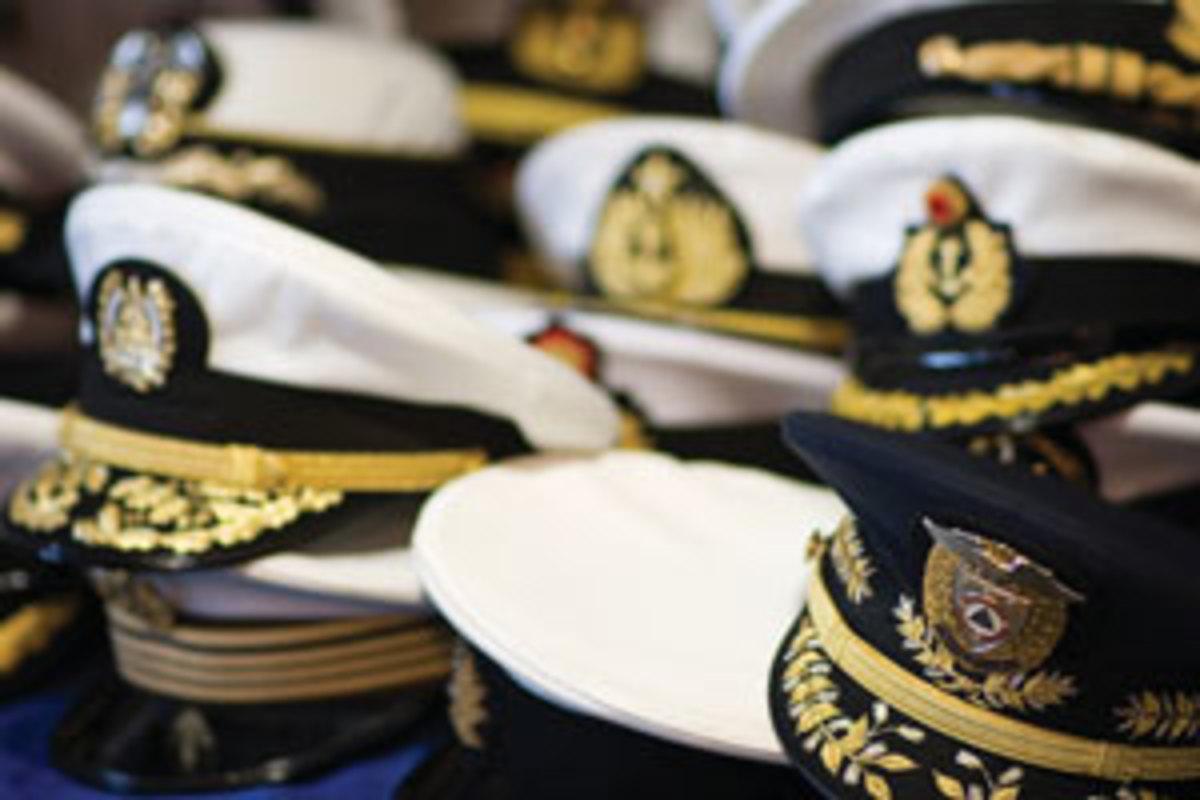 Captain's hats