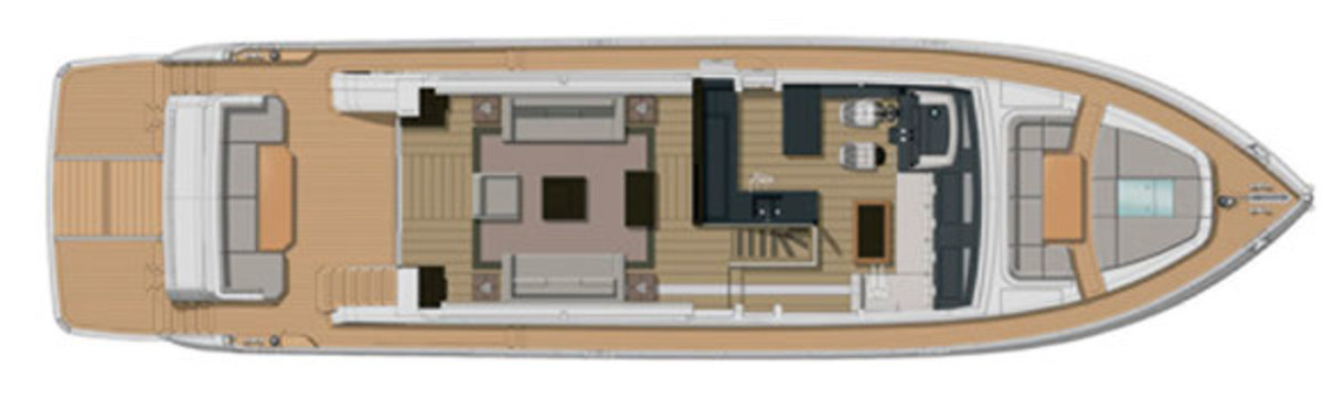 Pearl 75 deckplan - main deck