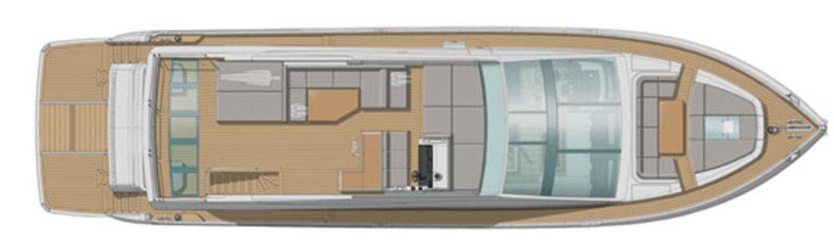 Pearl 75 deckplan - upper deck