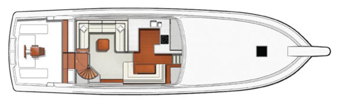 Bertram 64 deckplans
