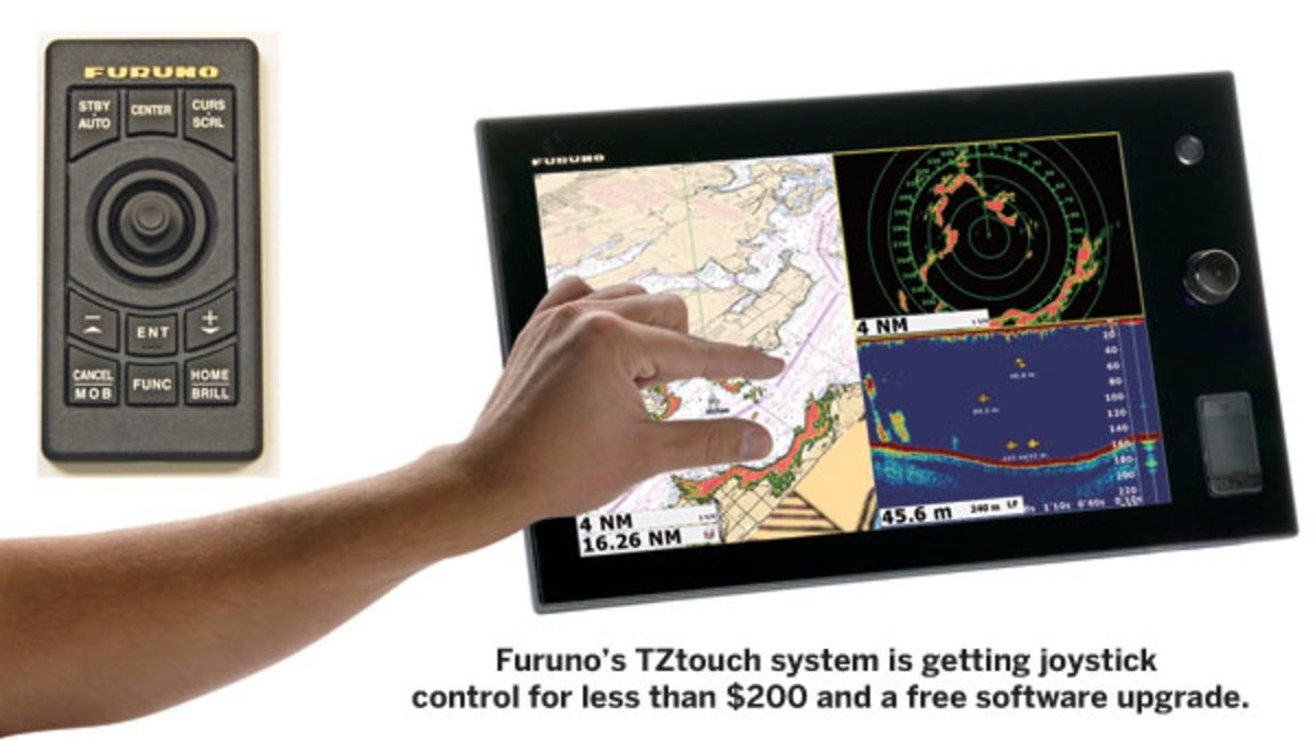 Furuno's TZtouch system
