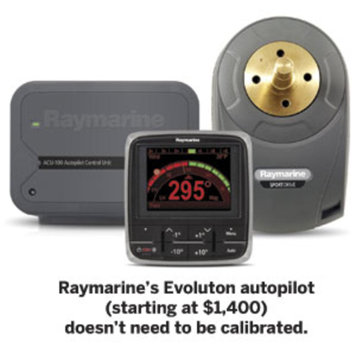 Raymarine's Evoluton autopilot