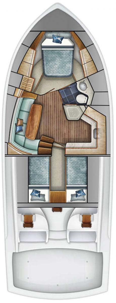 Viking 42 ST deckplans