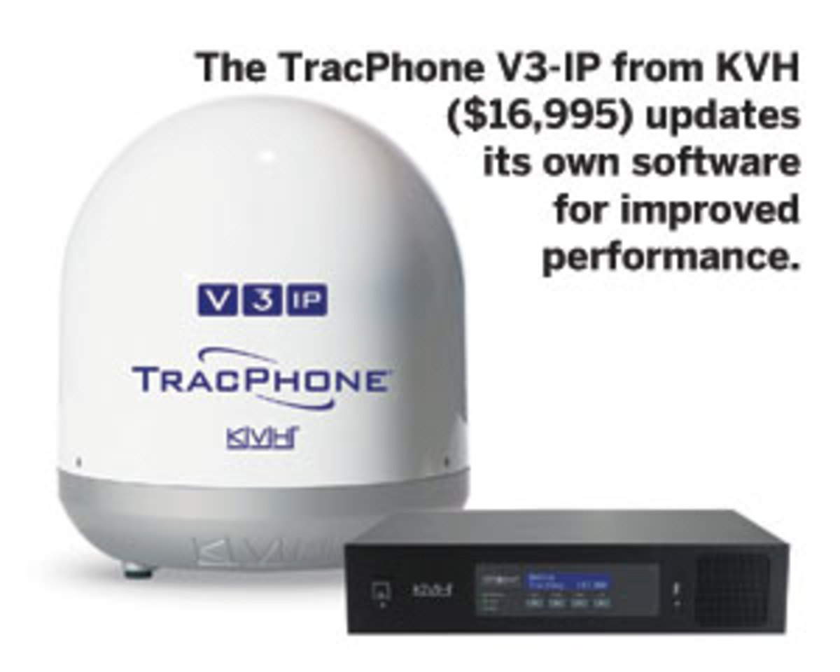 The TracPhone V3-IP from KVH