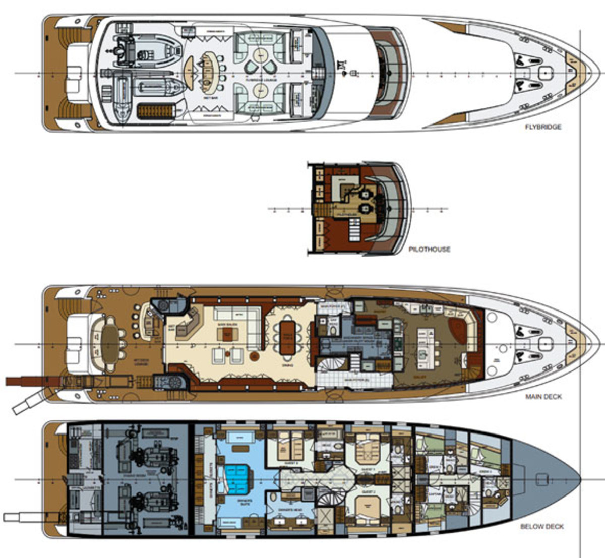 Trinity 120 deckplans