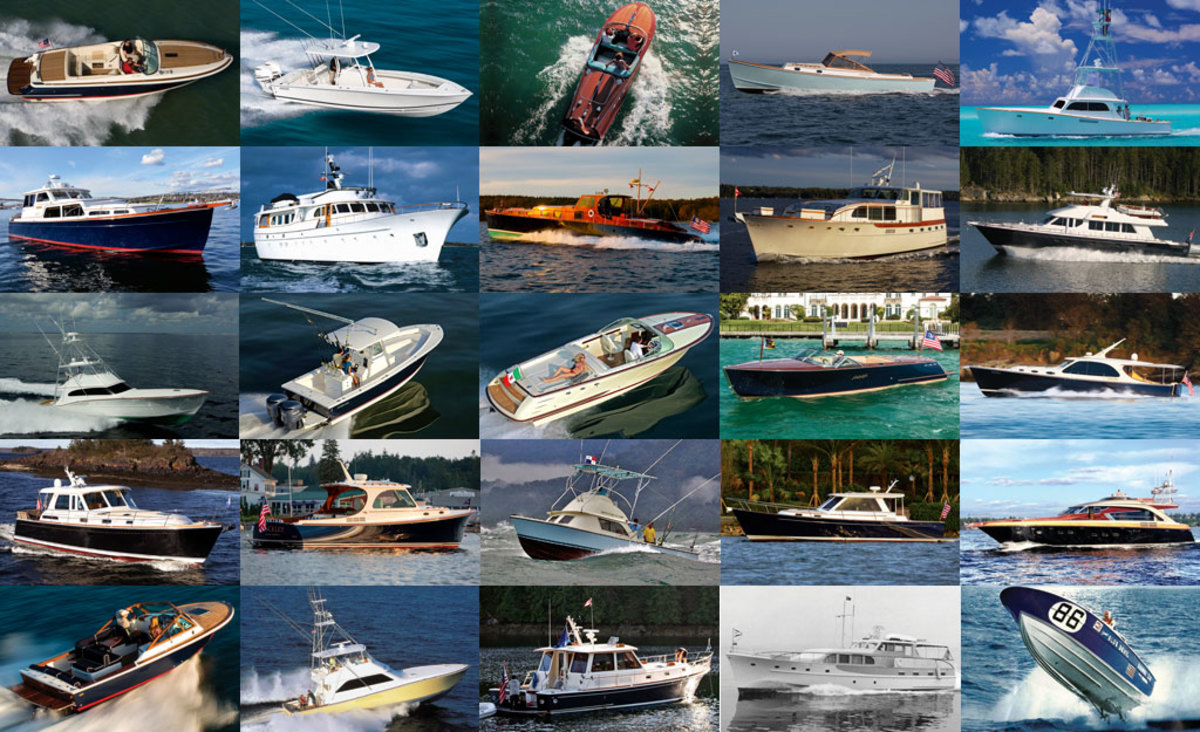 The prettiest boats ever built