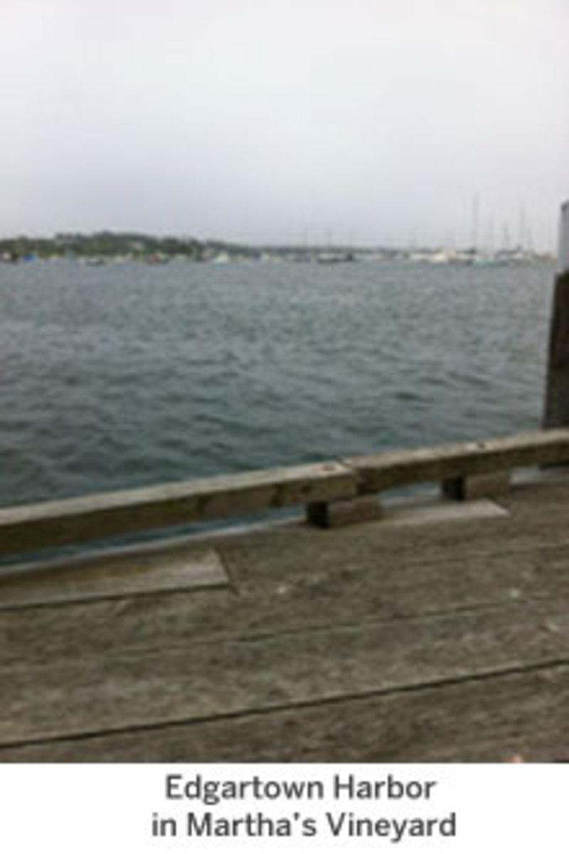 Edgartown Harbor in Martha's Vineyard