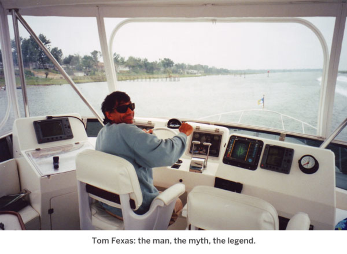 Tom Fexas: the man, the myth, the legend.