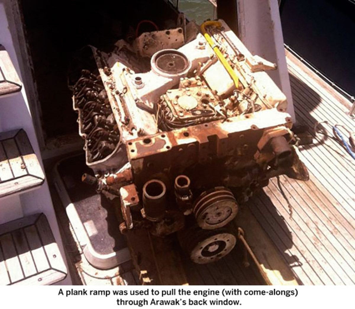 Replacing the Engines - Power & Motoryacht