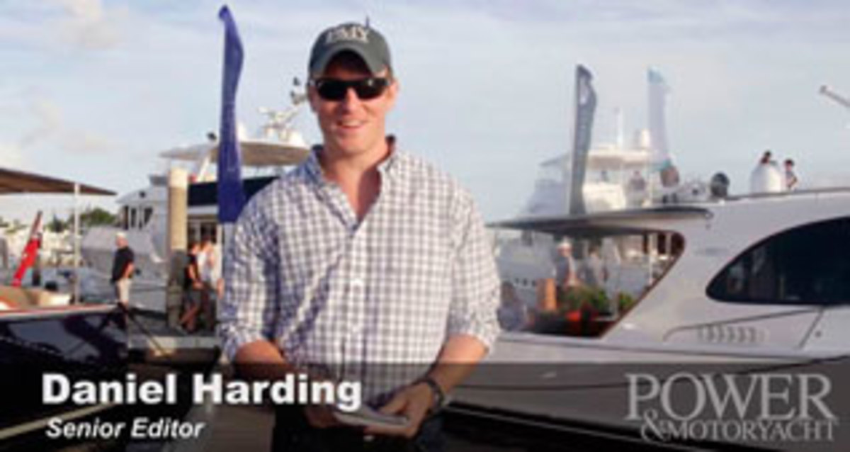 Dan Harding at the Sanctuary Cove Boat Show