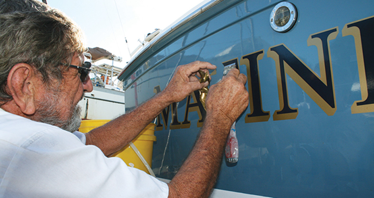 How To Resurface Your Transom