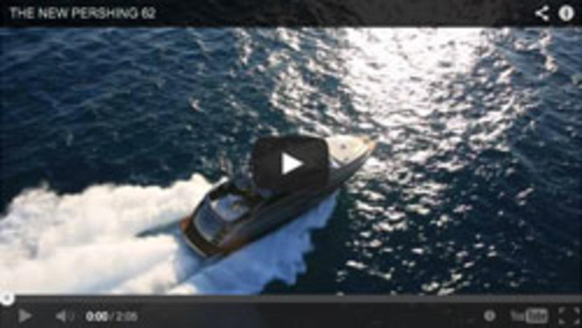 Pershing 62 video
