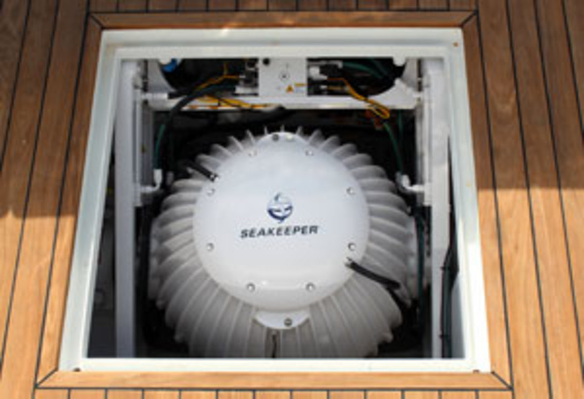 Seakeeper Gyro stabilizer