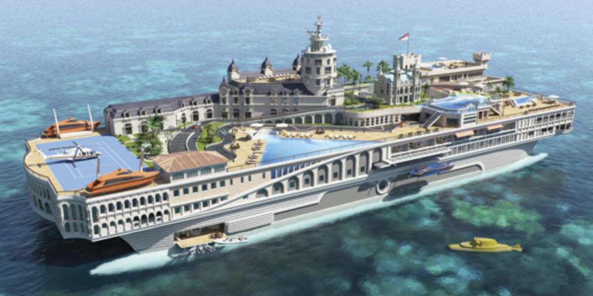 Streets of Monaco from Yacht Island Design