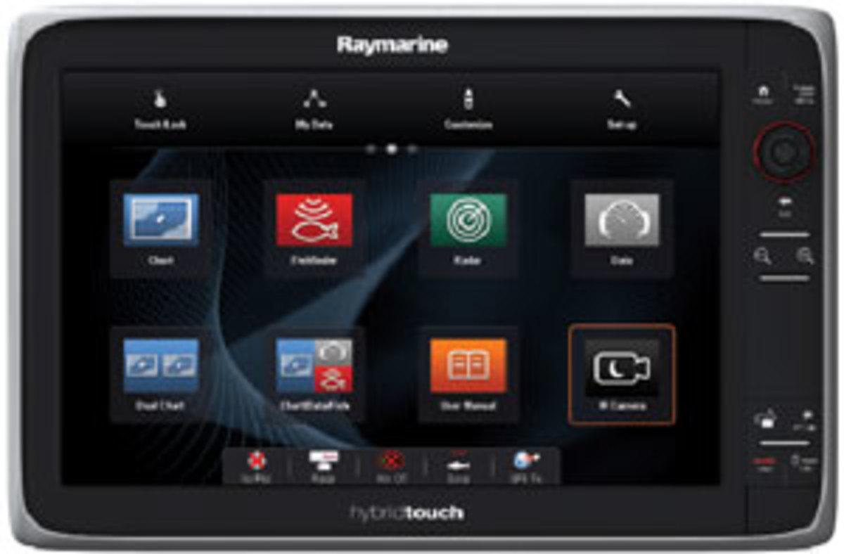 Raymarine HybridTouch interface