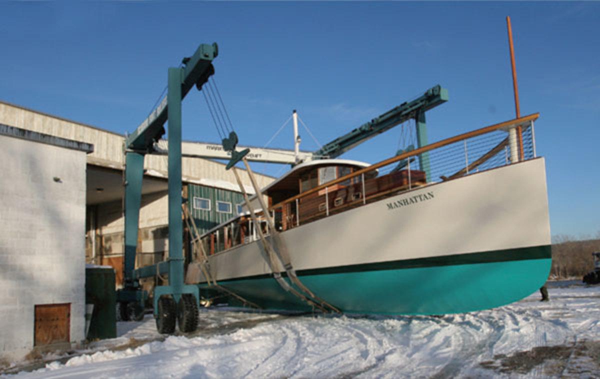 Scarano Boatyard, in Albany, New York