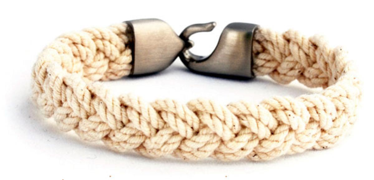 A Turks Head bracelet