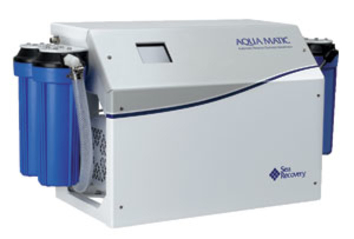 Sea Recovery AquaMatic Watermaker