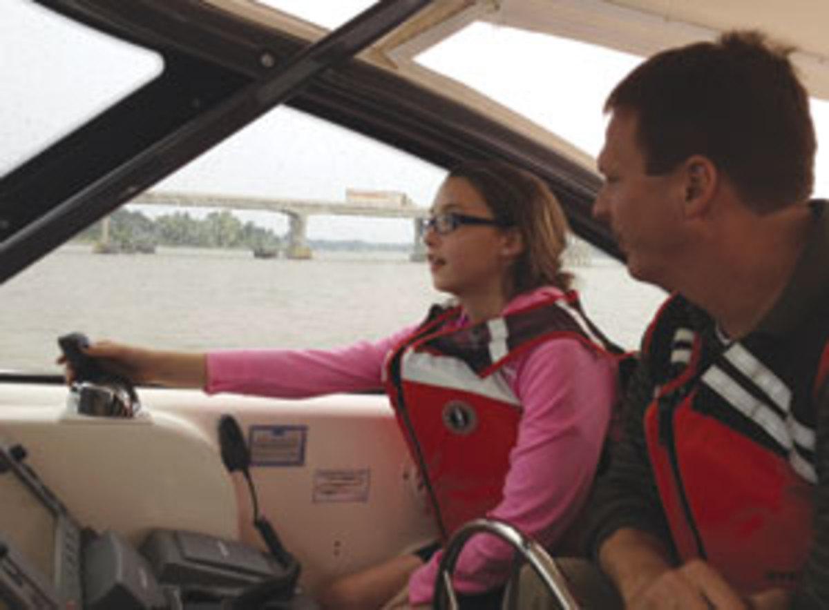 Boat joystick