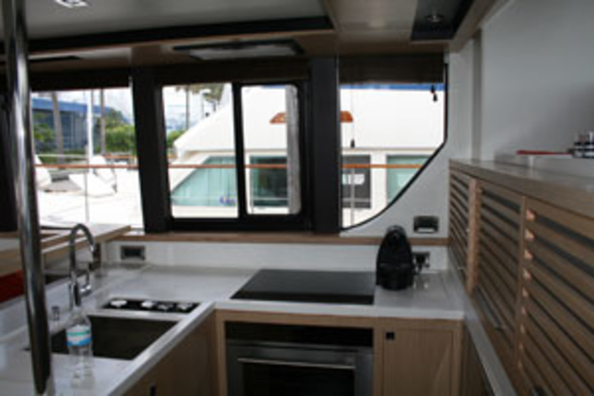 Garcia Trawler 54 galley
