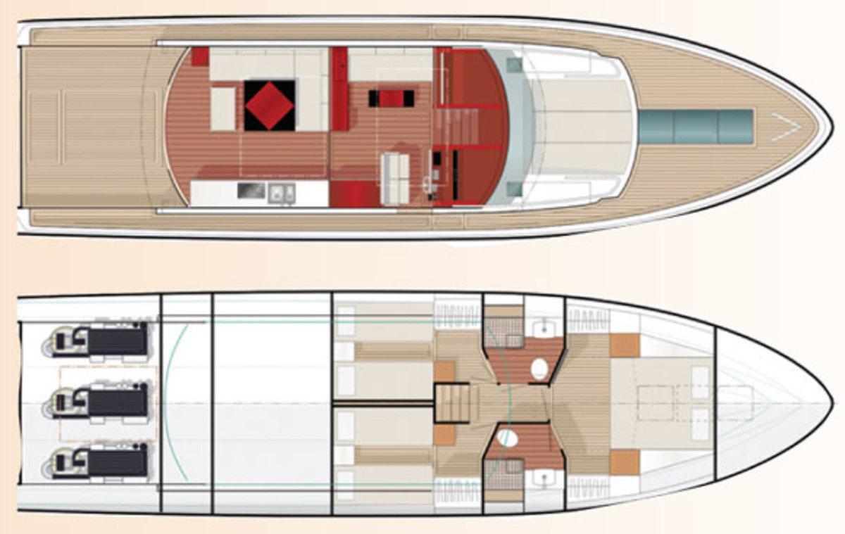Delta 54 IPS deck plans