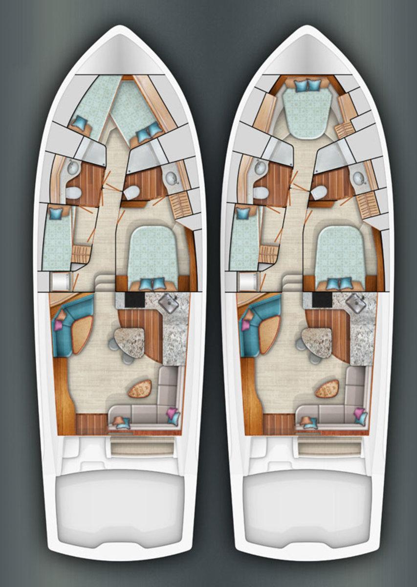 Viking 52 Layout options