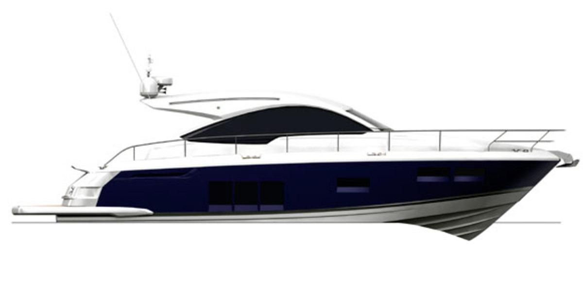 Fairline Targa 48 Open profile