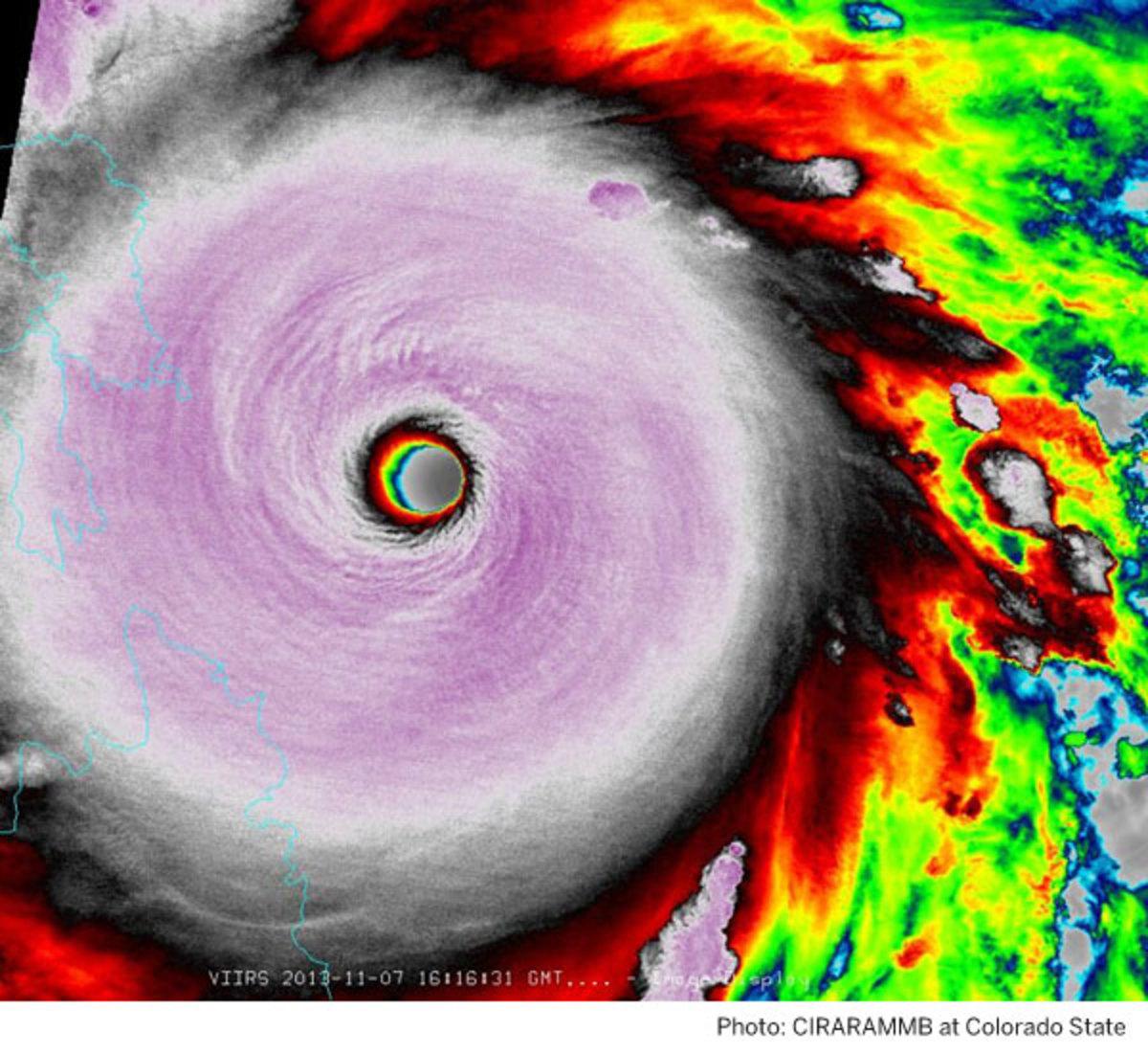 Typhoon image from CIRARAMMB-at-Colorado-State
