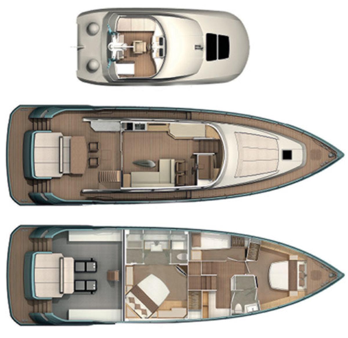 NISI 1700 deck plans