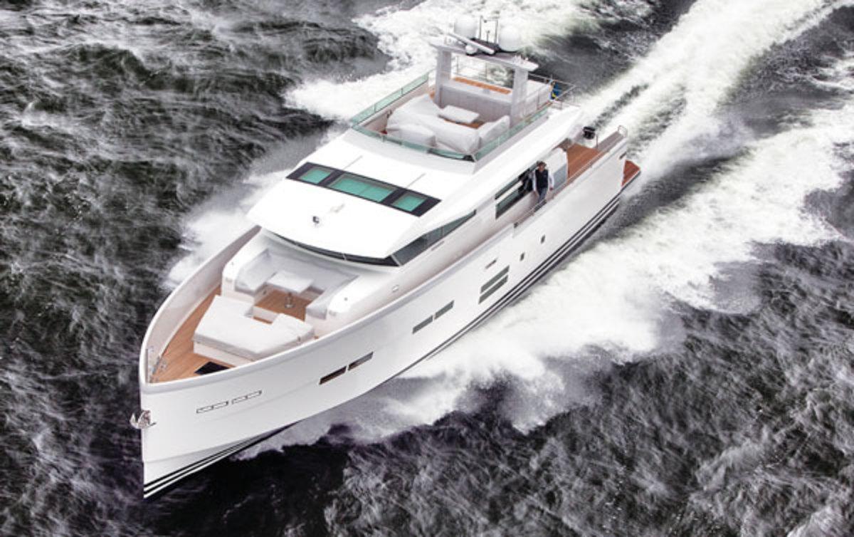 Delta Powerboats 80