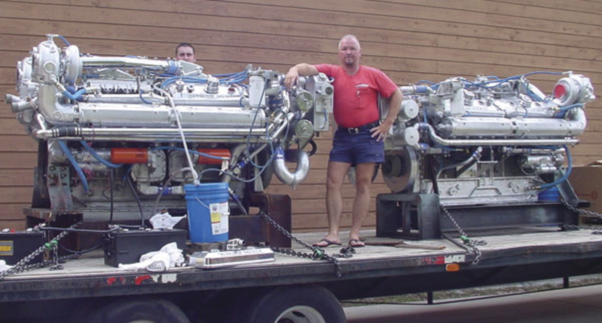 John Hice of Gulf Coast Marine Service in Panama City