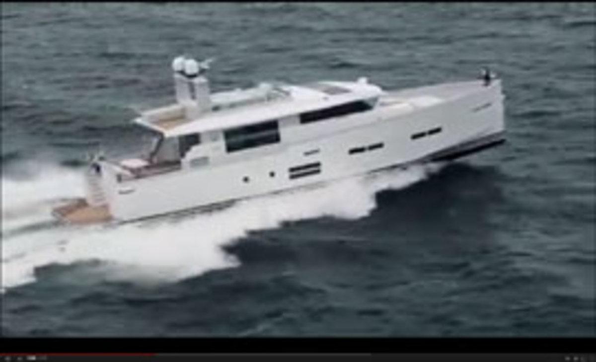 Delta Powerboats 80 video