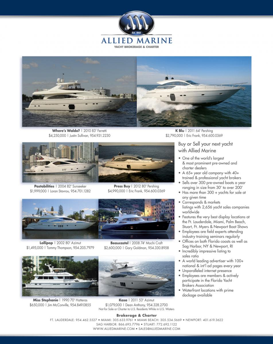 Allied Marine boats for sale