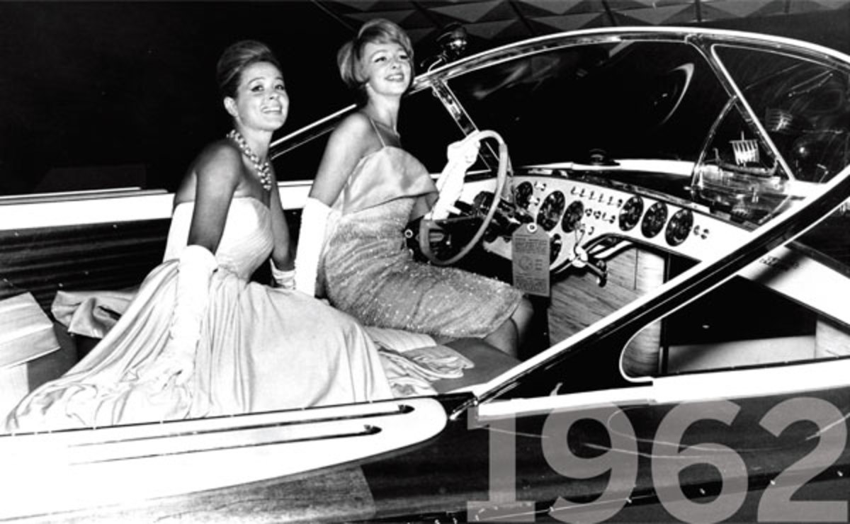 Riva Aquarama in 1962