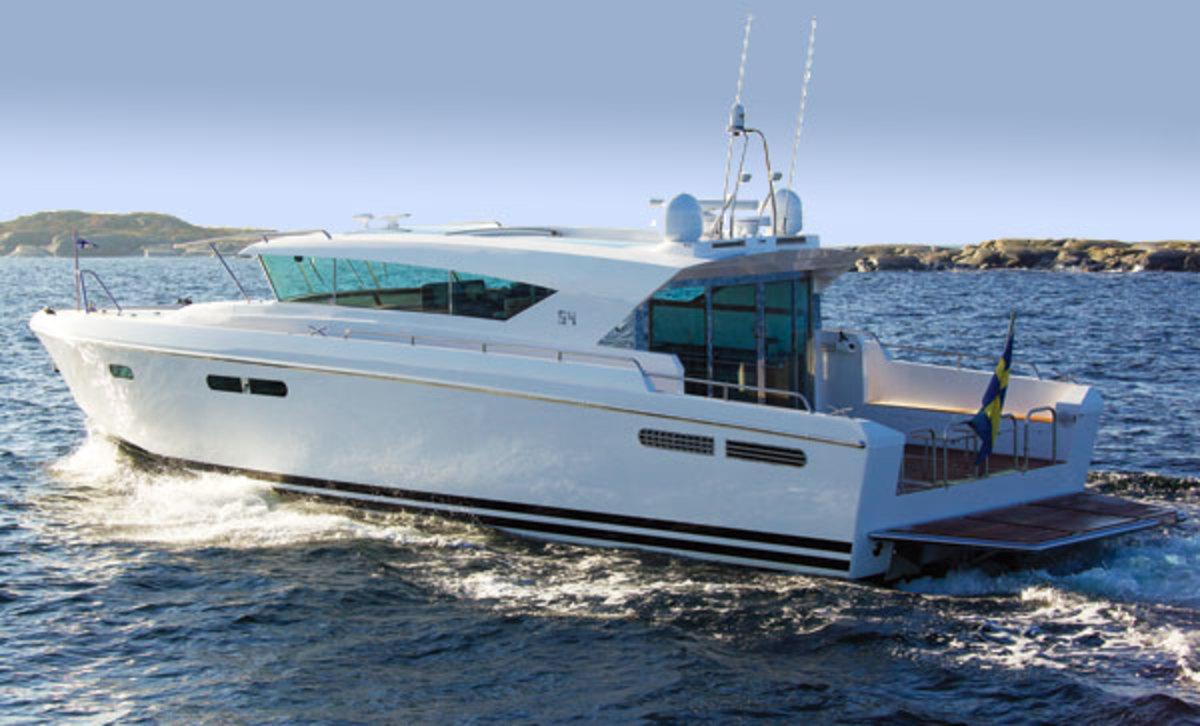 Delta Powerboats 54 IPS