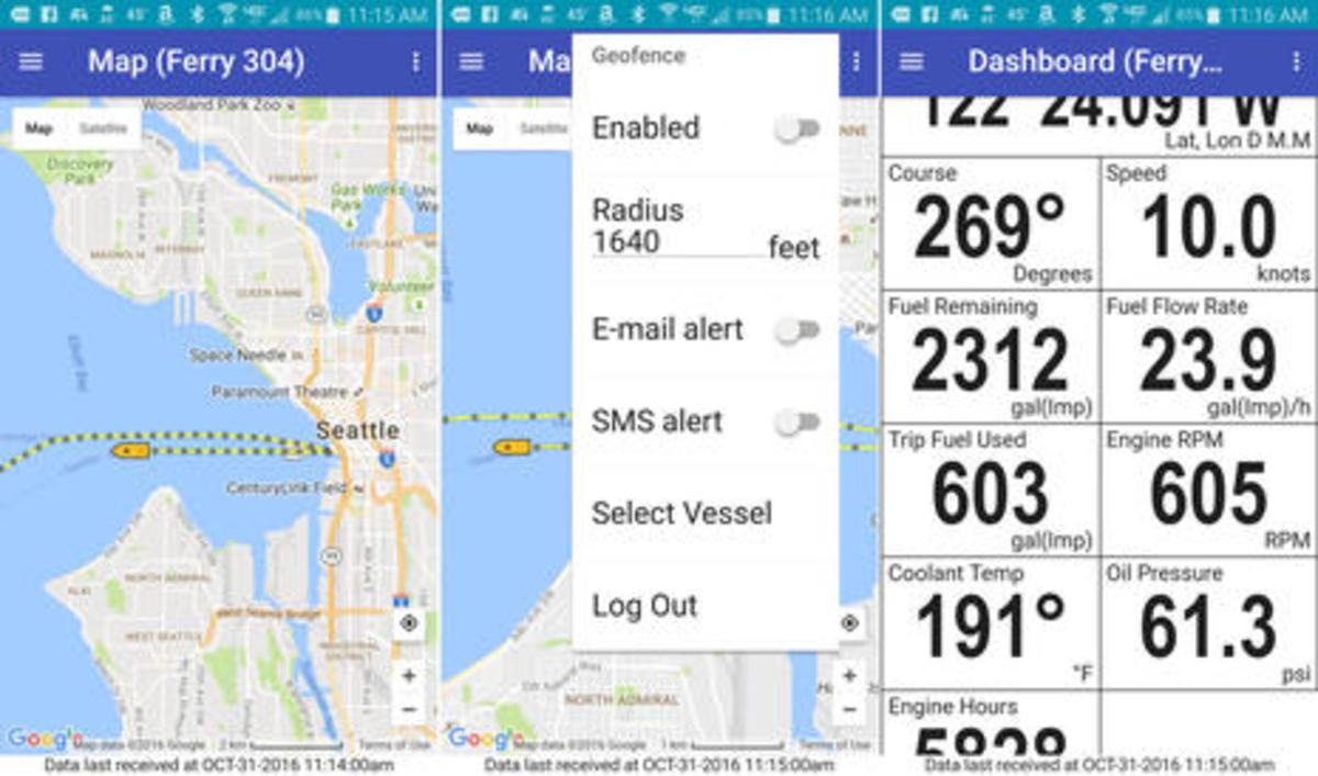 Lauderdale 'lectronics: sensors, sats, cams, boats, ROVs and