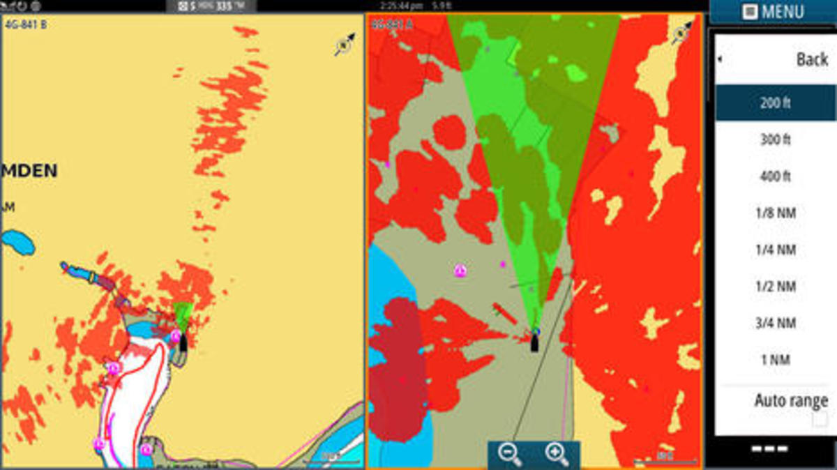 Simrad_4G_radar dual range in Camden marina.jpg