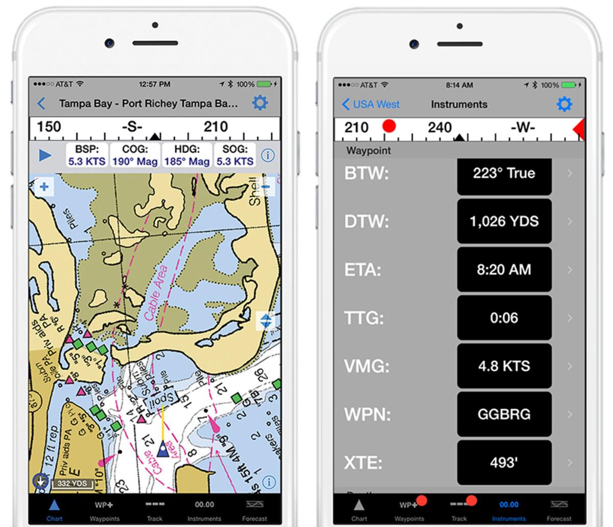 iNavX Marine Navigation Mobile App v4.7.4