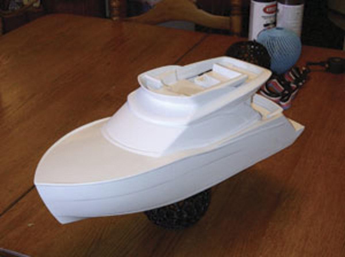 MakerBot boat model