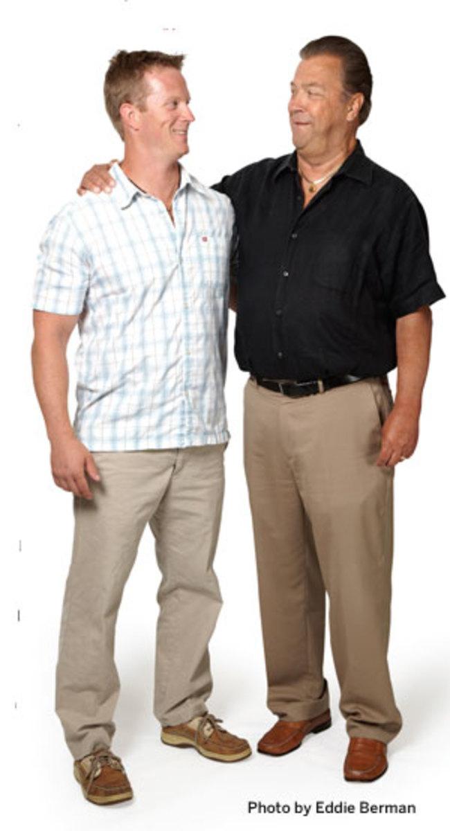 Bob and Rob Lane, photo by Eddie Berman