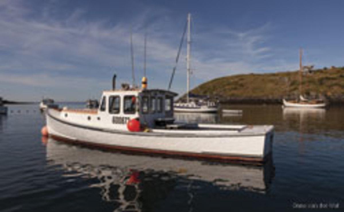 Photo of lobster boat by Onne van der Wal