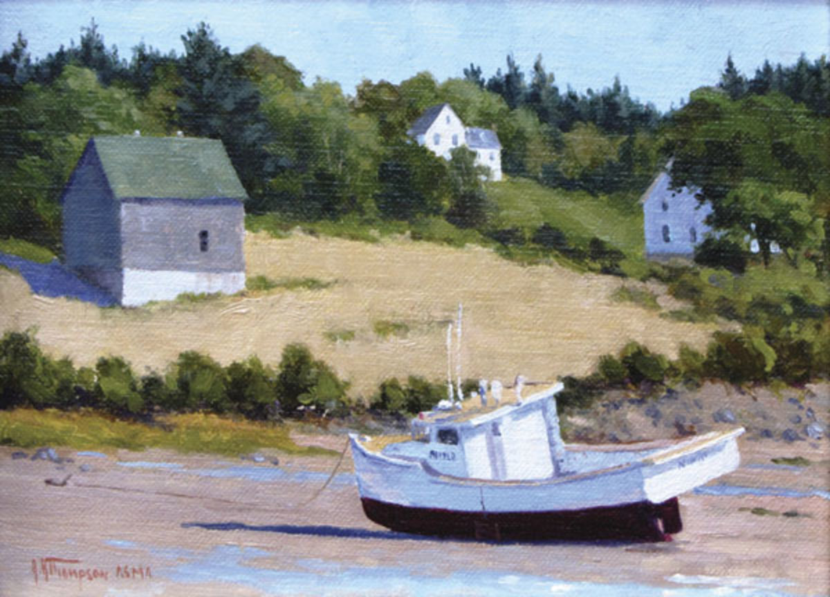 Low Tide—Sandy Cove by Anthony Thompson