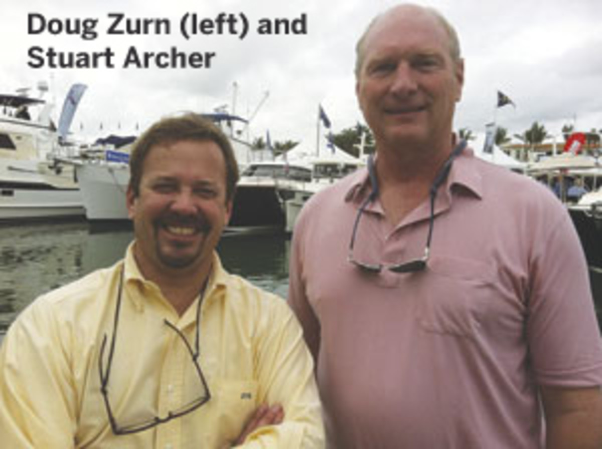 Doug Zurn and Stuart Archer