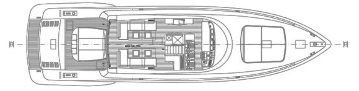 Mangusta 94 deck plans