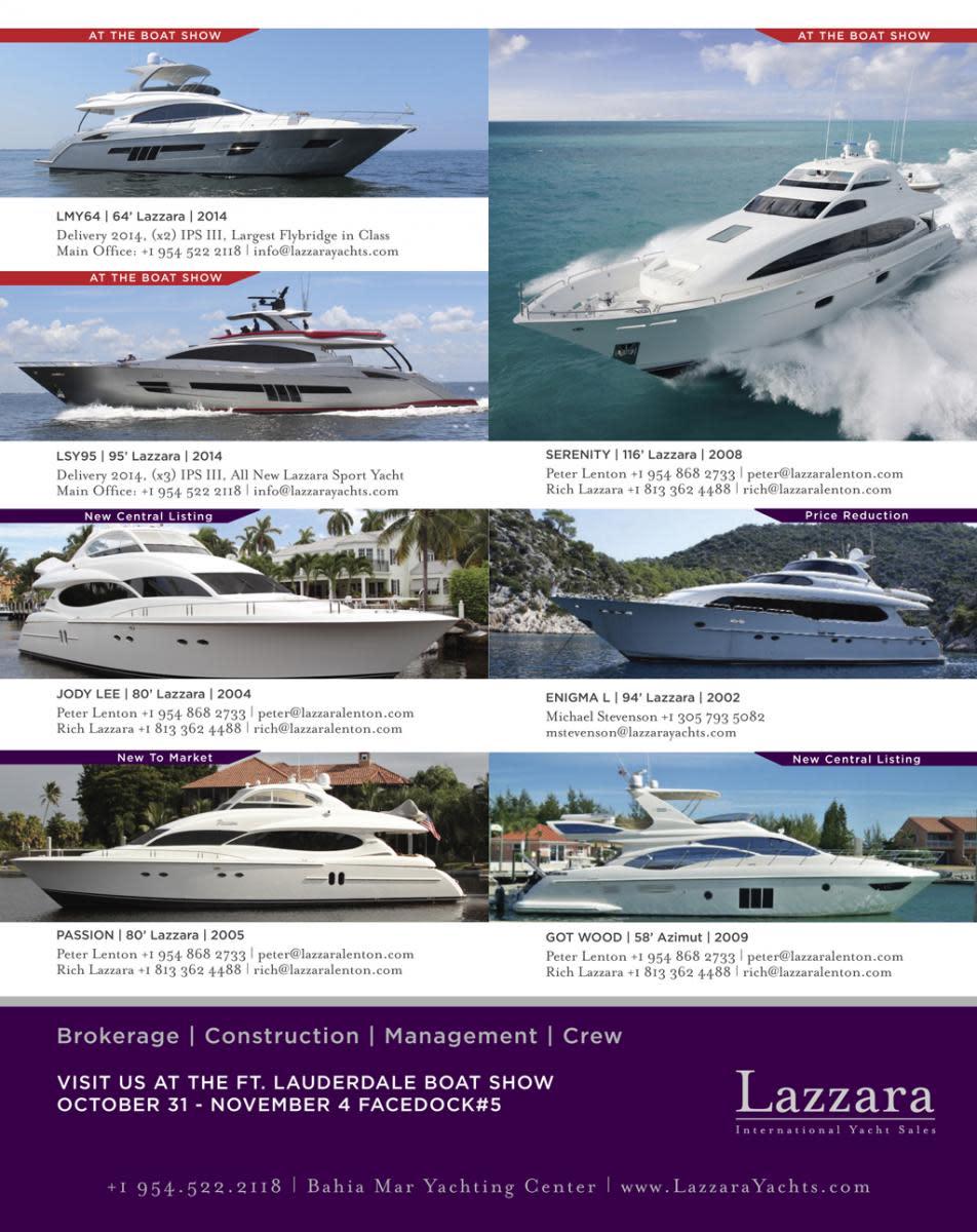 Lazzara International Yacht Sales