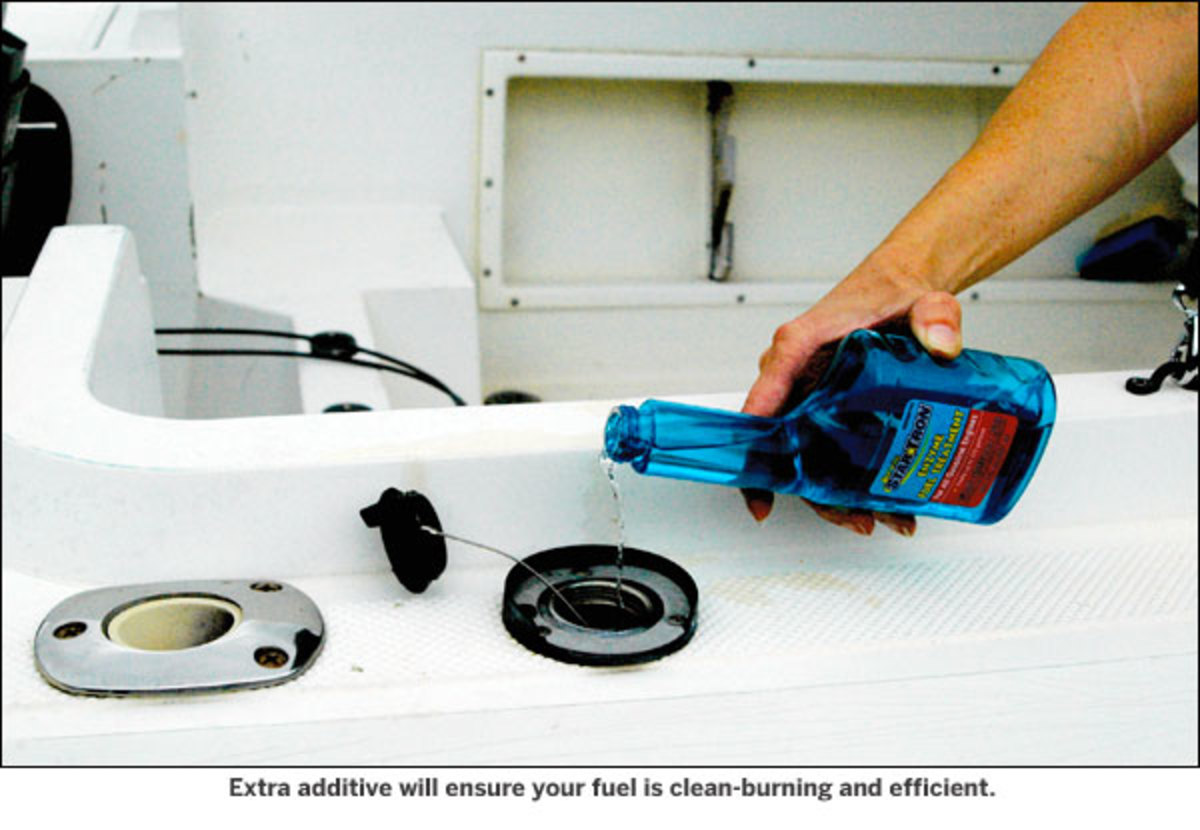 Extra additive will ensure your fuel is clean-burning and efficient.