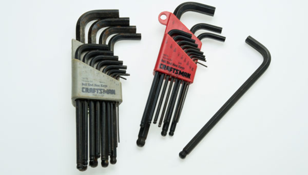 Ball-End Hex Allen Wrenches
