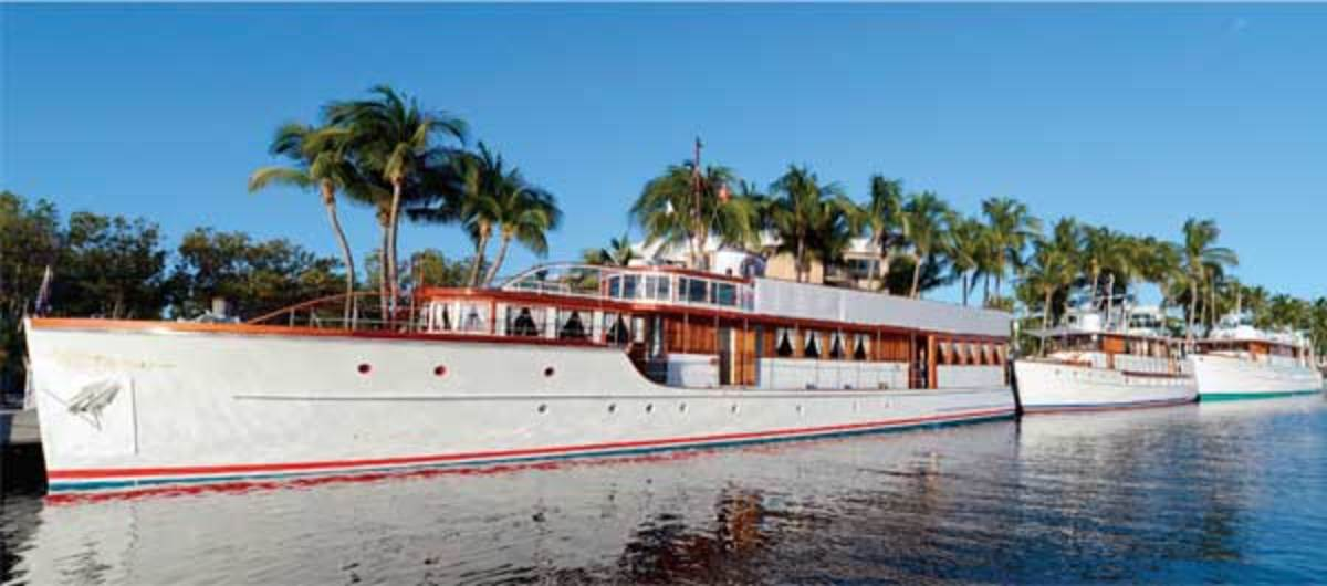 Vintage Yachts at the Ocean Reef Club