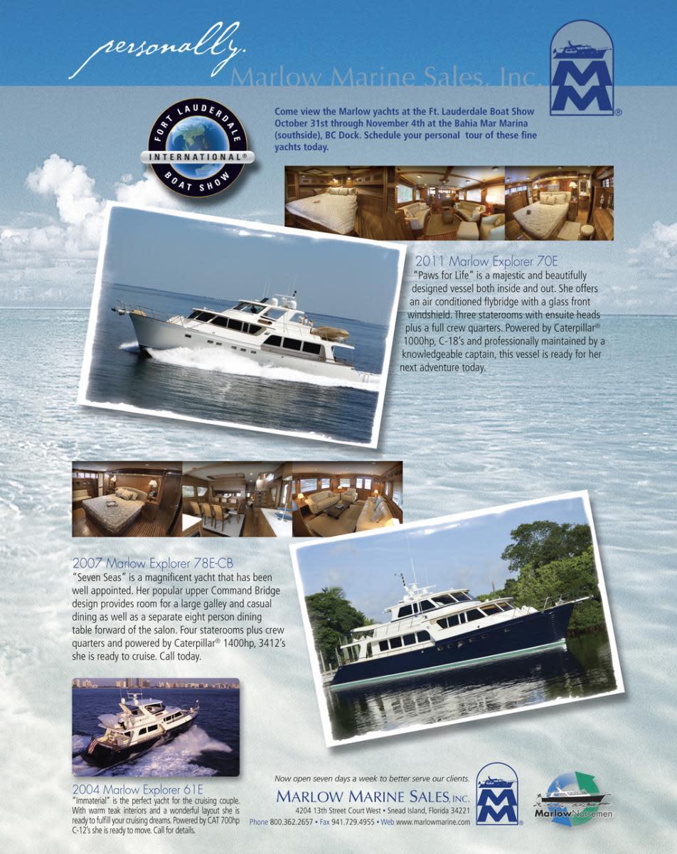 Marlow Marine Sales Inc.